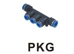 PKG Straight Fitting Thread