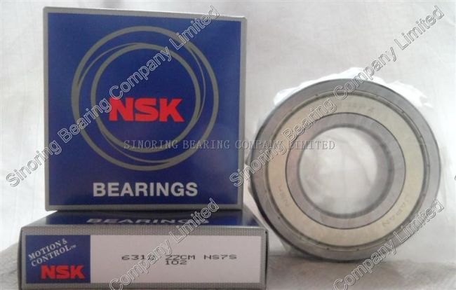 NSK 6312 ZZ deep groove ball bearing