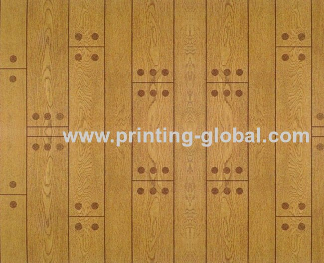 Hot stamping film for wood/wooden floor