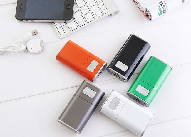 colorful battery charger for samsung/iphone