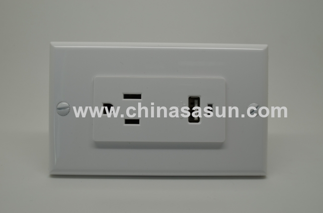 SINGLE USB WALL SOCKET