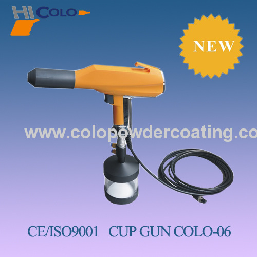 Manual Cup-Feed Powder Coating Unit