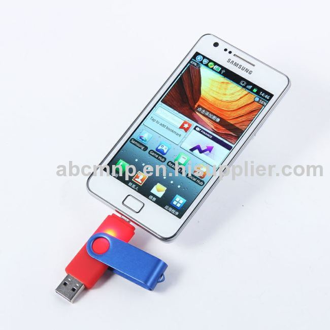 Swivel Smartphone U Disk on hot sales