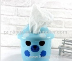 Hot stamping film for tissue box