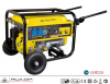 5000W Portable Diesel Generator Power Generator With Hand Cable And Wheel
