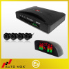 High digital LED auto reverse parking sensor system