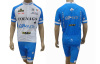 Cool Max Sublimated Cycling Wear Breathable Fabric Jersey And Bib Shorts