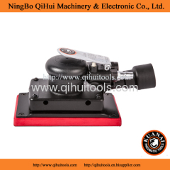 Industrial Air Orbital Sander rectangle type pad composite body