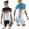 Pro Team Professional Ladies Cycling Kit Cycling Jerseys and Bib Shorts