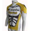 Tour Team Highroad Bicycle Clothing Columbia Sublimated Cycling Jersey / Shirt