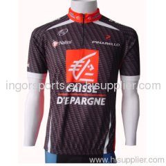 Sports Cycling Teams Jersey Riding Tops Band Collar Raglan Sleeves For Bike Racing