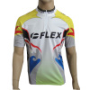 Sublimated Cycling Wear, Flex Short Sleeve Children Cycle Shirts Clima Cool
