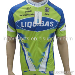 Custom Cycling Apparel Junior Mountain Bike Jersey Short Front Zip Bicycle Clothes For Men
