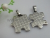 Exported Couple Stainless Steel Necklace Pendant Jewelry