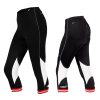 Summer Women 3/4 Cycling Pants With Reflective Logos, No Slip Hem Lady Knickers