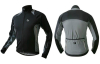 Black Grey Sublimated Cycling Wear Thermal Race Winter Bicycle Jacket