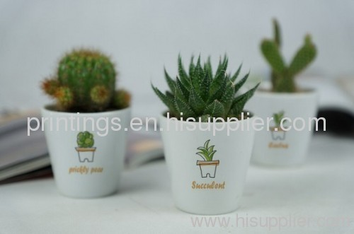 Hot stamping foil for flower pot