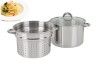 Stainless steel paster pot 3 pieces pasta pot
