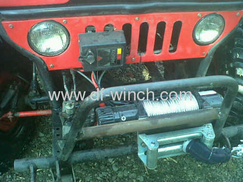 4X4 Winch 12000lbs with wired and wireless remote
