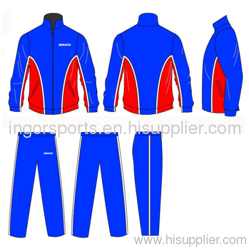 Tracksuits Sportswear Sports Wind Breaker and Trouser
