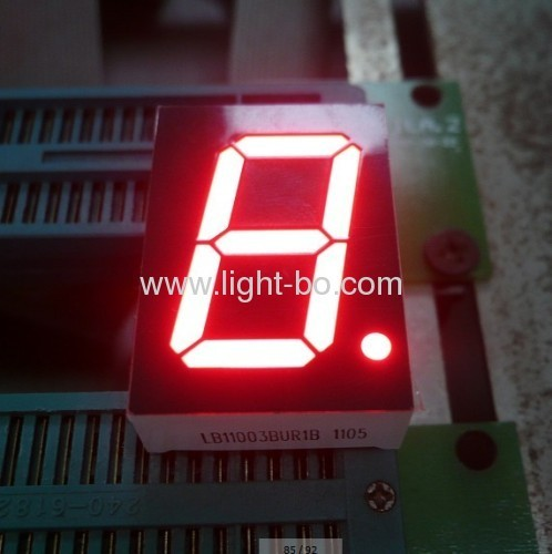 "Super Briht Red common Anode 1"" 7 segment led display for elevator position indicator"