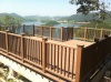 100% recyled waterproof wpc decking and railing landscap platform