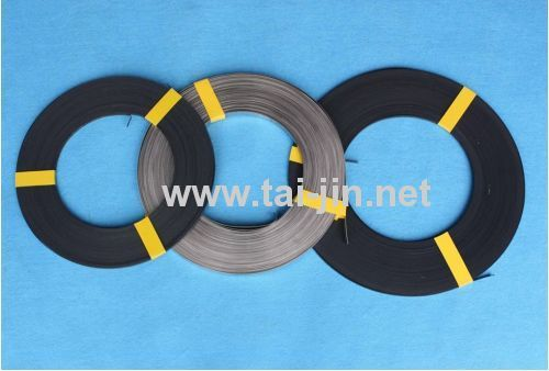 Iridum and Tantalum Oxide Ribbon Anode for Cathodic Protection of Oil Storage Tank