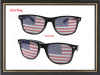 USA flag sunglasses Sticker sunglasses with custom logo stickers pinhole lens sunglasses