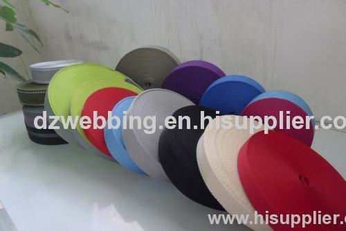 Top quality of pp webbing