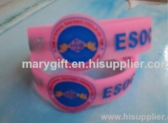 watch shape silicone wristband