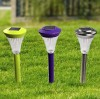 Solar led lawn garden light