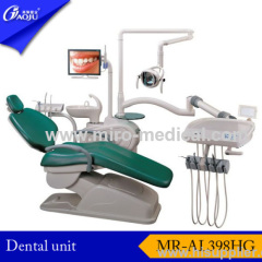 Luxurious Top Mounted Dental Unit with PU leather