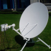 1.2m tripod portable satellite communication antenna system