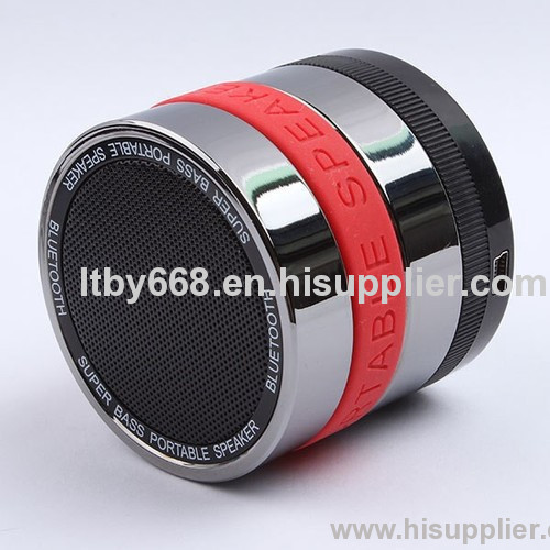 China hosales carema wireless bluetooth speaker with FM function
