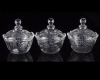 Elegant Glass Sugar Bowl