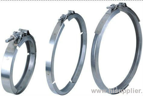high quality stainless steel clamp