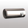 Auto exhaust tail pipe, universal tail throat