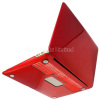 Straight line groove design Crystal Polycarbonate Plastic Protector Shell For 11-inch Macbook Air - Red