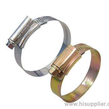 British type hose clamps