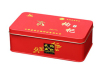 Tea tin box rectangular