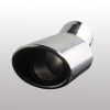 140mm length automobile exhaust muffler tip for Hyundai Elantra