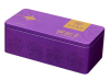 Rectangular tea tin box