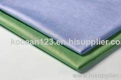 Woven glass fabric microfiber cleaning cloth