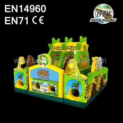 Inflatable Animal Jungle Park