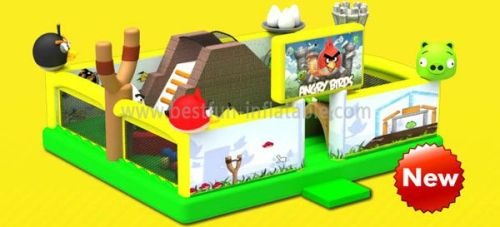 Angry Bird Inflatable Park
