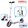 Two 200mm big wheels kick scooter for adult with double suspensions