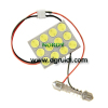 Car Led Top Light DPCB-12W ,Led reading light, LED dome light, led dome lamp,Car led top/reading light, Festoon Light