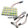 Led Reading Light DPCB 24SMD 5050, LED dome light, led dome lamp,Car led top/reading light,Reading Light, Top Light