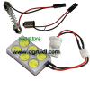 Led Reading Light DPCB-6W ,LED dome light, led dome lamp,Car Top Light, Festoon Light, car dome light, Led dome Bulbs