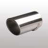 Straight auto exhaust pipe for MPV